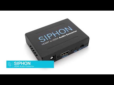 Siphon HDMI Audio Extractor - 5.1 surround sound
