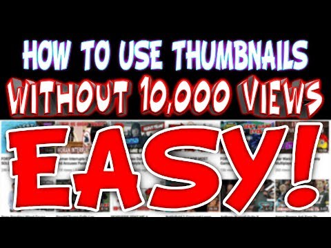 How To Use Custom Thumbnails On Your Videos Without Having 10,000 views (Enable Custom Thumbnail)