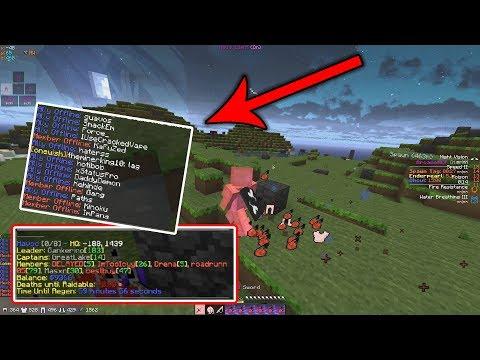 SERVER DDOSED?? MAKES RICH POWER FACTION GO RAIDABLE!! | Minecraft Factions (Arcane) #4