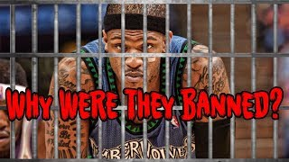 4 Potential Stars Who Were BANNED FROM THE NBA