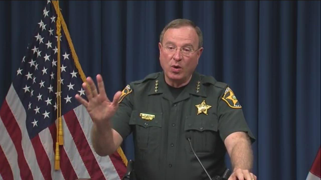 Grady Judd: Police officer arrested sent 'horrific' messages
