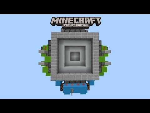Minecraft Super Compact 6x6 Vault Door (PE/Xbox/Windows10/Switch)