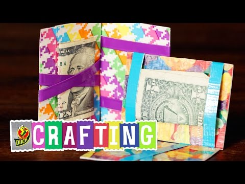 How to Craft a Duct Tape Flip Wallet