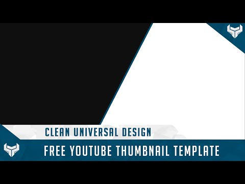 free gfx free youtube thumbnail template psd universal design