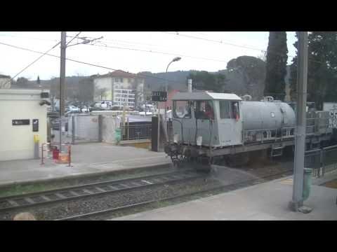 Train à Monaco,Cannes,Nice-Ville