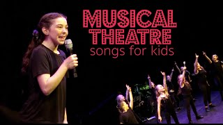 MUSICAL THEATRE SONGS FOR KIDS - by Spirit YPC