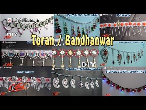 15 Toran / Bandhanwar making | How to make | JK Arts1107