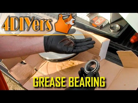 DIY: How to Pack a Bearing with Grease