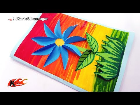 DIY Mother's Day Greeting Card | How to make | JK Arts 1391