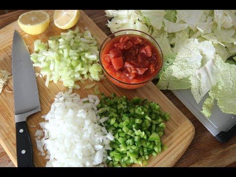 Detox Cabbage Soup Diet Recipe