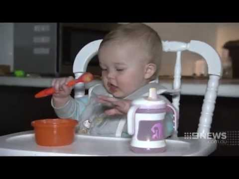 QUT - Toddlers' diets at risk of iron deficiency - Rebecca Byrne - Nine News