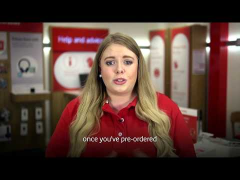 How to Pre-order your iPhone on Vodafone