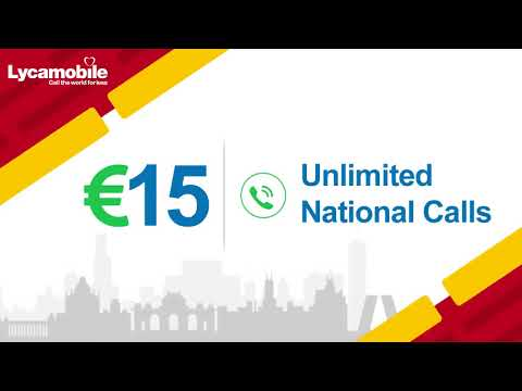 Lycamobile National Plan