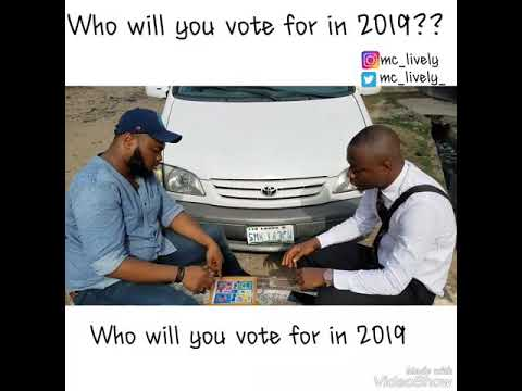 Mc Lively - Who Will You Vote in 2019? Cover