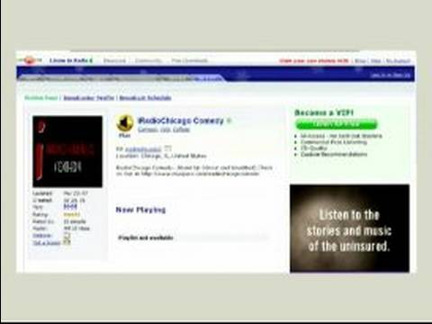 How to Build an Online Radio Station : Setting Up a Website for Online Radio Stations
