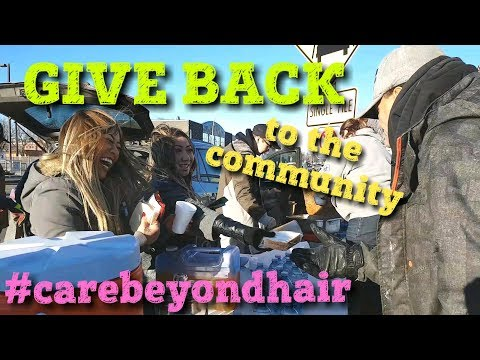 day 26: donate your time- GIVE BACK to the community #carebeyondhair
