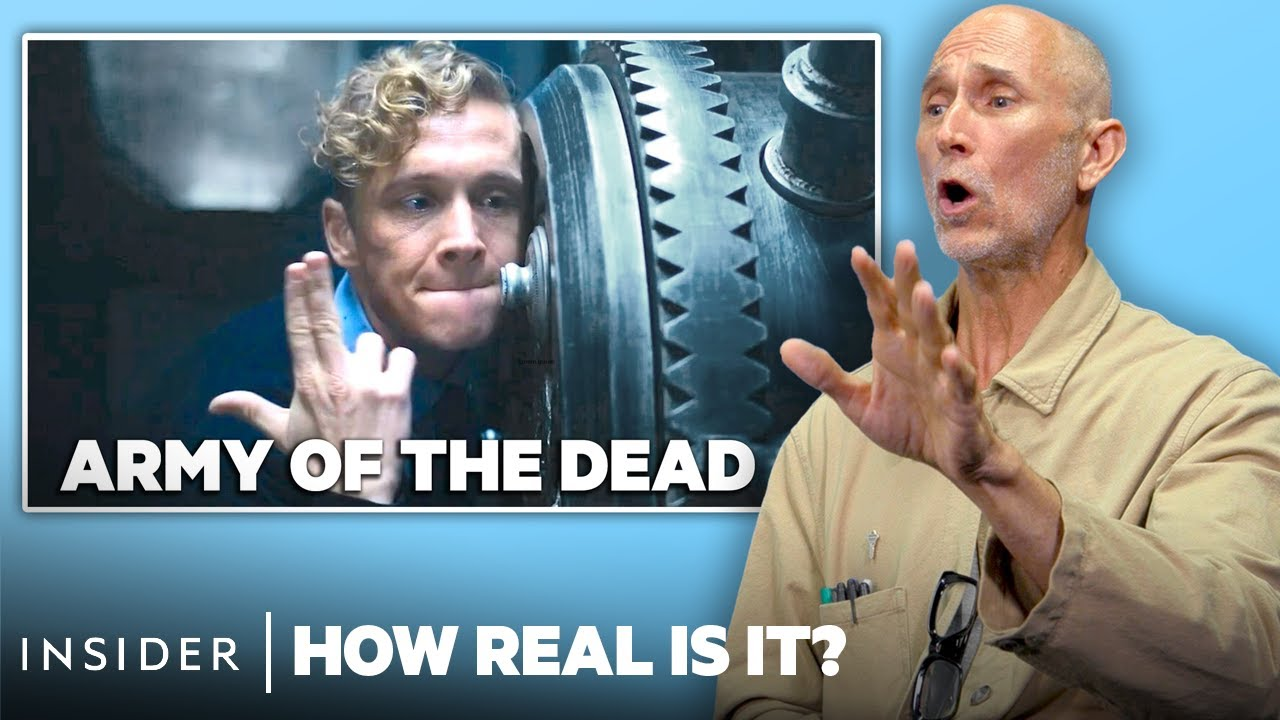 Master Safecracker Rates 10 Safecracking Heists In Movies And TV | How Real Is It?