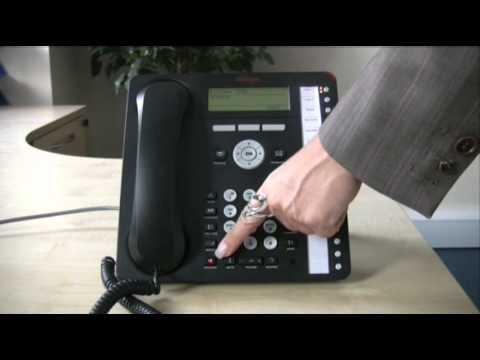 Using voicemail - Avaya IP Office 1616 series telephone