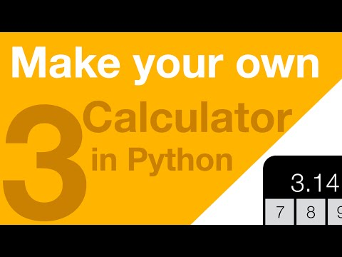 Make your Own Calculator in Python - Part 3 - Parsing