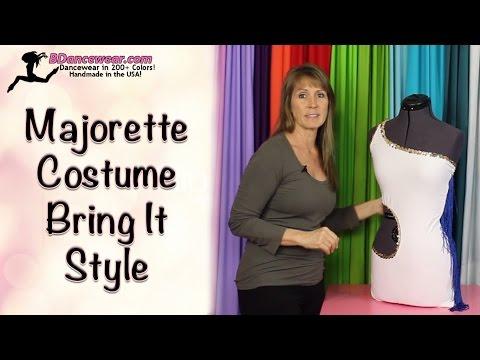 How to Make a Majorette Costume