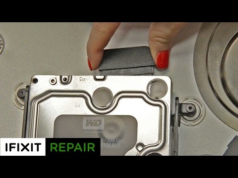How To: Replace the Hard Drive in your 27
