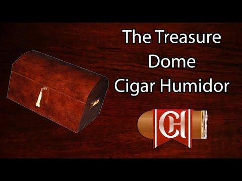 The Treasure Dome Cigar Humidor