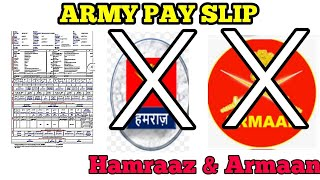 ARMY PAY SLIP DOWNLOAD #indianArmy