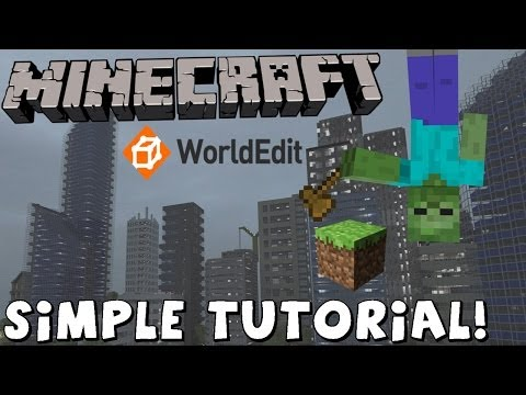 MINECRAFT TUTORIAL - The EASIEST way to install WORLDEDIT - Single Player 1.7.2