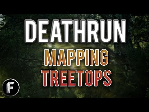 CoD4: Making a Deathrun Map (mp_dr_treetops) (Call of Duty 4: DR Mapping Livestream) (Part 1)