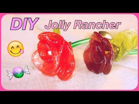 My DIY Jolly Rancher Roses!