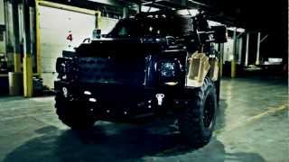 Gurkha MPV armored vehicle used by Fuerza Civil