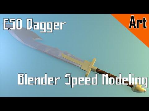 ESO Dagger: Blender Speed Modeling