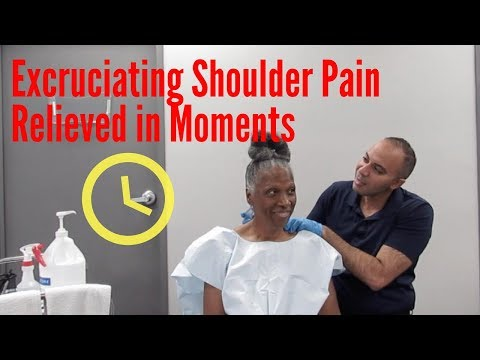Excruciating Shoulder Pain Relieved in Minutes!