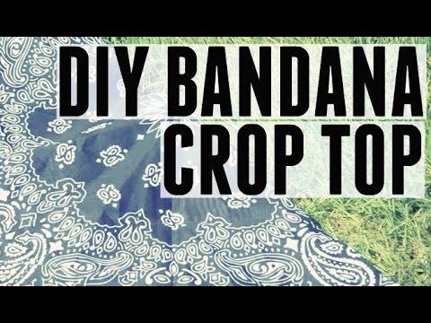 Bandana Crop Top | DIY