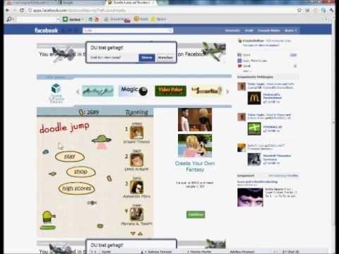 Doddle Jump Facebook - Cheat