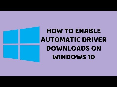How to Enable Automatic Driver Downloads on Windows 10 | Tutorials in Hindi