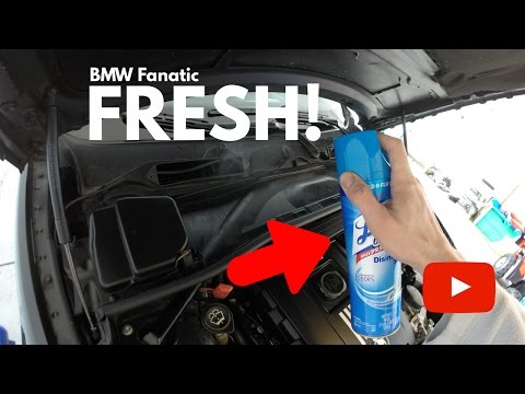Musky BMW A/C Smell? Here's The Life Hack Trick!