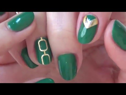 Temporary tattoos as Nail art - Natalie's Creations