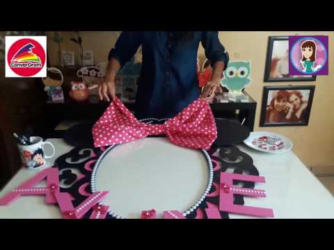 Porta Selfies Minnie Mouse