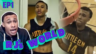 """Everyone's Tryna GO AT Me!"" RJ Hampton BATTLES With Tyrese Maxey! RJ Stars In His Own REALITY SHOW!"