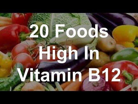20 Foods High In Vitamin B12