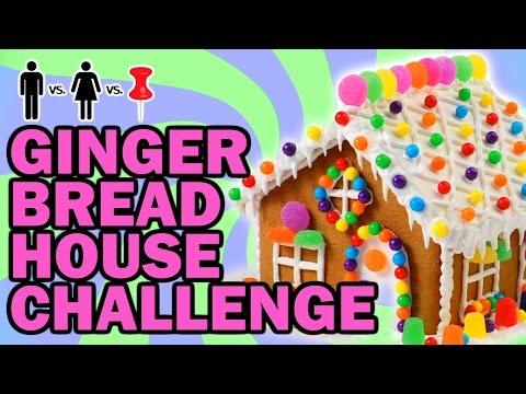GingerBread House ThrowDown - Man Vs Corinne Vs Pin