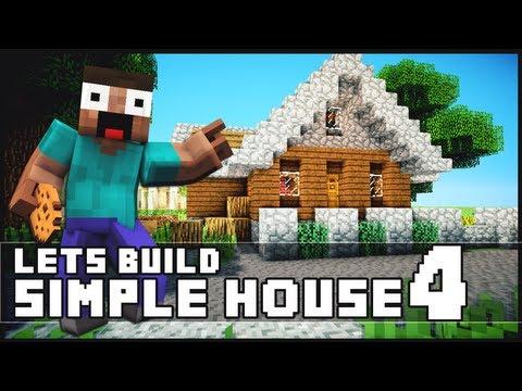 Minecraft: How To Build a Simple Starter House 4