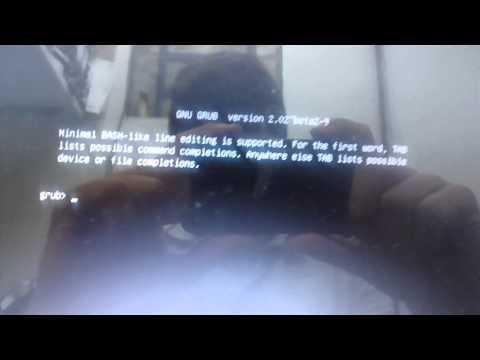 Erro ao instalar Ubuntu 14.04 via pendrive GNU GRUB version 2.02~beta2-9 Minimal BASH-like