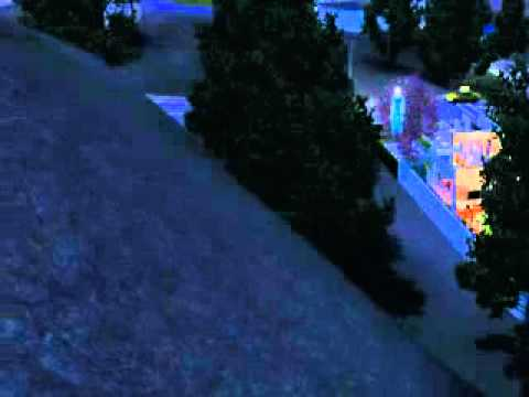 The Sims 3 Flying Ghost
