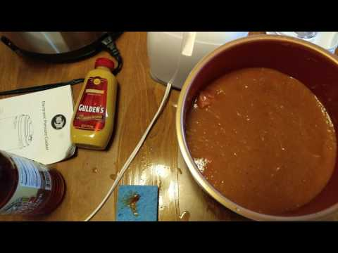 HOW TO MAKE PINEAPPLE BARBECUE MUSTARD APPLE CIDER VINEGAR HOT SOY SAUCE BABY BACK RIBS