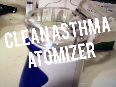 How to Clean Asthmanefrin EZ Breathe Atomizer - Sucks