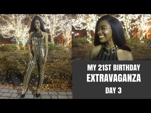 MY 21ST BIRTHDAY EXTRAVAGANZA || Day 3: Dinner at Restaurant