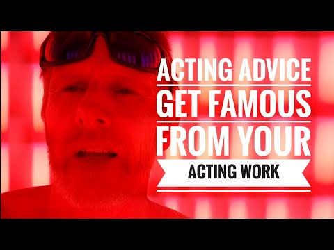 Acting Advice - How to Book mMore Acting jobs While You're Working on an ACTING job