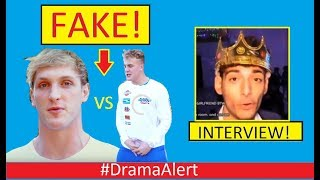 Logan Paul vs Jake Paul (FAKE BEEF) #DramaAlert Ice Poseidon (INTERVIEW) Dolan Twins , KSI